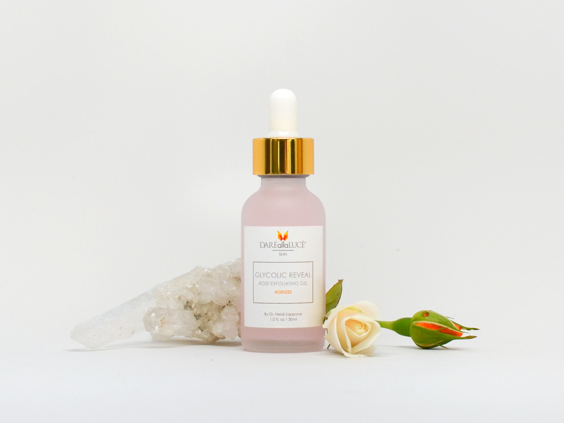 glycolic reveal rose exfoliating gel